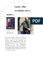 Claude Cueni, Supermann FB PDF