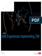 ABB Experience Implementing CIM