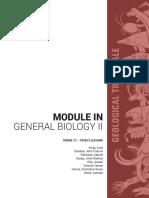 Geologic Time Scale (Module)