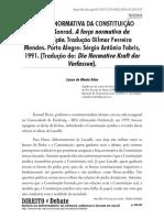 A força normativa da Constituição (Tradução e notas de Gilmar Ferreira Mendes)..pdf