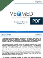 Veomed Investor Presentation