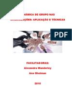 Apostila Dinâmica de Grupo nas Organizações -Aplicação e Técnicas - REVISÃO 06 08 de 2016.pdf