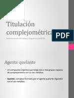 Titulación complejométrica 2015