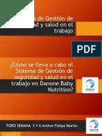 Sistema de Gestión de Seguridad y Salud Foro Andres Felipe MArtin