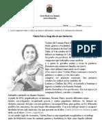 BIOGRAFÍA Y TRÍPTICO guía 7º