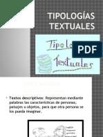 Clase Tipologías Textuales