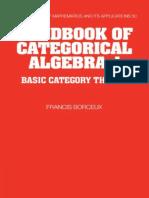 (Encyclopedia of Mathematics and its Applications) Francis Borceux - 001_ Handbook of Categorical Algebra_ Volume 1, Basic Category Theory-Cambridge University Press (1994).pdf