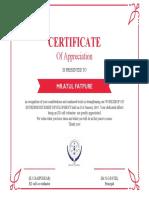 Atul Certificate