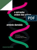 A Estranha Ordem Das Coisas - Antonio Damásio
