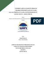 PERANAN SYEKH YASIN AL-FADANY SEBAGAI PENJAGA TRADISI INTELEKTUALITAS ULAMA DALAM JARINGAN ULAMA JAWI DI HARAMAYN (AHMAD  SYAIROZI)(1).pdf