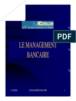 Le Management Bancaire