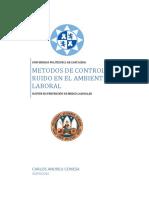 Metodo de Control de Ruido Ambiental Laboral