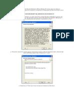 Este manual muestra cómo instalar Microsoft SQL Server 2005 en Windows XP