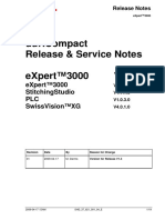 Service Notes EXpert 3000 V1.3 - 17.04.2009
