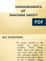 (10)Ten Commandments of Machine Safety