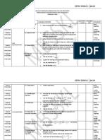 Yearly Scheme of Work STPM Physics Semester 2 2019
