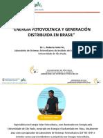 Energía Fotovoltaica y Generación Distribuida en Brasil