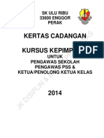 paper work KURSUS KEPIMPINAN 2014.docx