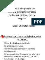 Manual para importar desde China