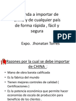 Manual para importar desde China