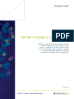 Instant Messaging and Security