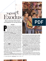 The Quiet Exodus - Seeking the American Dream Overseas - U.S.news & WORLD REPORT August 2008