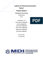 Financial Analysis of Telecommunication Sector