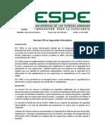 Normas ISO y seguridad informática