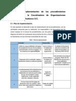 Capítulo V implementación de los procedimientos adecuados en la Coordinadora de Organizaciones Cafetaleras de Huatusco A.docx