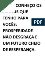 SÓ EU CONHEÇO OS PLANOS QUE TENHO PARA VOCÊS.pdf