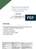 Micosis Implantacion Wiener 2019