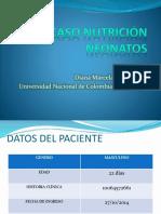 Manejo farmacologico y nutricional en un neonato