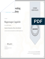 Coursera VE9ATGJM8XWG