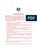 documento compraventa
