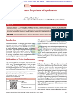 Perforation Peritonitis