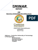 Data Grids and Service Oriented Architecture