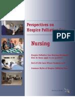 Perspective on hospice palliative care