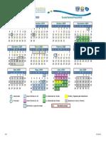 ENP Calendarios Escolar 2019 2020