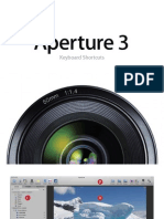 Aperture 3 Keyboard Shortcuts