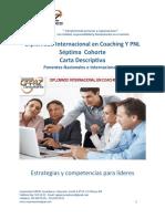27 de Abril 2019 - Diplomado Internacional en Coaching y Pnl