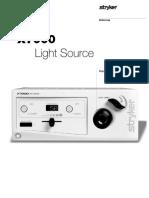 Stryker X7000 Endoscopy Light Source - Service Manual