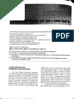 Metodologia _Introdução à pesquisa qualitativa - cap 2