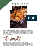 P.F. Chang's - Dynamite Shrimp