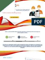Quality Audits Management Software | Internal Audit Software - AuraQMS