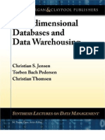 Multidimensional Databases and Data Warehousing Synthesis Lectures on Data Management