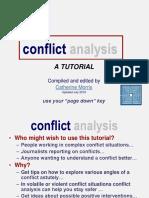 Conflict Analysis Tutorial