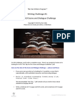 The 2019 Online Scene and Dialogue Challenge