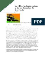 Ecologismo y libertad económica.docx