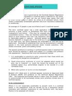 Management de Senarios d'Accidents