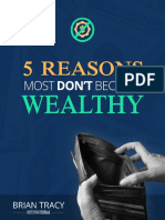 5 Reasons must don't be wealthy